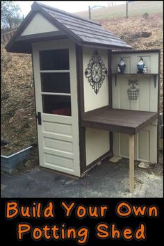 Shed DIY - How to Build Your Own Potting Shed Now You Can Build ANY Shed In A Weekend Even If You've Zero Woodworking Experience! #pottingshed