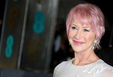 Helen Mirren Hair--Color isn't just for the very young!!