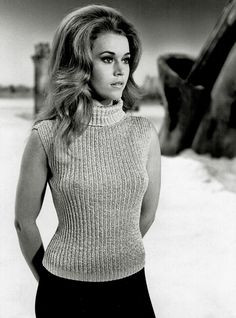 Jane Fonda on set for Barbarella Secret Oranges: Century Girl Jane Seymour, Classic Actresses, Actors & Actresses, Vintage Hollywood, Classic Hollywood, Jane Fonda Barbarella, Barbarella Movie, Elizabeth Montgomery, Olivia De Havilland