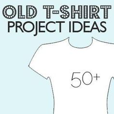 Old T-Shirt Project Ideas by Mandapsn