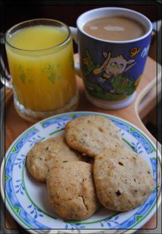 Birne-Marzipan-Cookies zum Frühstück wie bei Mama Mia - ganz mein Geschmack!