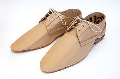cardboard shoes
