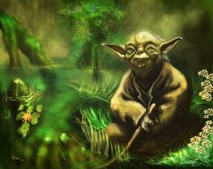 Emotion-Peaceful: The peaceful serenity of Yoda reminds me that it's not always important to have boundless energy.  Sometimes it's enough to simply be at peace and relax.