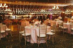 pillar and post wedding, niagara on the lake wedding. Love the lights over the dance floor!