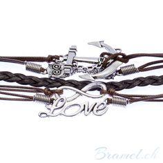Armband mit Unendlichkeit, Love, Anker und Eule als Symbol - http://bramel.ch/accessoires-shop/armband/armband-mit-unendlichkeit-love-anker-und-eule-als-symbol/ http://bramel.ch/wp-content/uploads/2014/05/Armband-mit-verschiedenen-symbolen-zoom-600x600.jpg