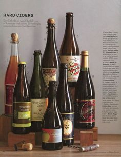 Hard Ciders - love almost as much as prosecco