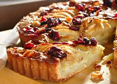 Apple Cranberry Tart from Viking River Cruises