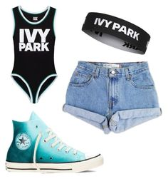 """""""Untitled #153"""" by journeycarothers on Polyvore featuring Ivy Park, Levi's, Converse and Topshop"""
