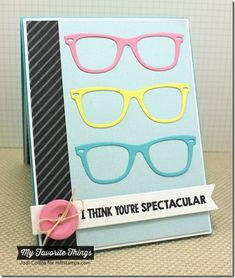 Geek Is Chic, Geek Is Chic Glasses Die-namics, Diagonal Stripes Background, Linen Background, Fishtail Flags STAX Die-namics - Jodi Collins #mftstamps