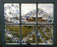 Sea Glass Window On The Driftway