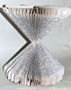 Book Folding Wednesday - Pandora's Craft Box