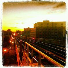 Bronx sunset