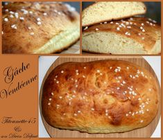 Gâche vendéenne (thermomix) Thermomix Pan, Dessert Thermomix, Biscuits, Bakery, Good Food, Cooking, Breakfast, Ethnic Recipes, Sweet