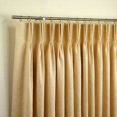 How to make a pair of Pinch Pleat Curtains