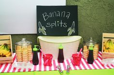 Going Bananas over a Pink Mod Monkey Birthday Bash!!