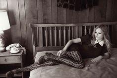 Anna Ewers by Glen Luchford for Vogue UK October 2014 - Polo Ralph Lauren