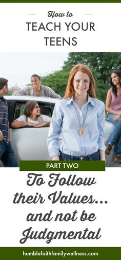 Teaching your teens to follow their Christian values AND not being judgmental of their peers in the process can be a difficult task to navigate. Help your teen understand the do's and don'ts. #ChristianParenting #ChristianLiving #ParentingTeens