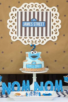 Cookie Monster: The Cake