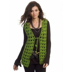 Free Easy Women's Vest Crochet Pattern