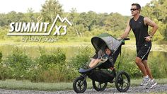 Siete pronti per il jogging e lo sport con il passeggino? Arriva Summit X3 di Baby Jogger, il tre ruote pronto a tutto! http://www.cercapasseggini.it/notizie-passeggini/anteprima-summit-x3-baby-jogger-556.asp #passeggini2014 #babyjogger #jogging #sport