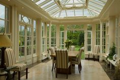 Orangery - beautiful dining room | Town and Country Conservatories