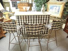 Just Looking Upscale Resale – Consignment shop in Rehoboth Beach DE - Mid-Century Modern Patio Bar Set