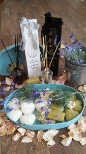 Seifen Lavendel Raumduft Tablett Zinkeimer wohlfühlen Table Decorations, Furniture, Home Decor, Pink, Soaps, Lavender, Pastel, Other, Dekoration