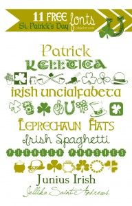 11 free St. Patrick's Day fonts
