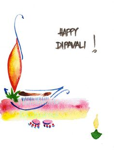 Items similar to Assorted cards, Handpainted Note Cards Greeting Cards Diwali Blank Fall Original Watercolor Art Lamp festival of lights Hindu on Etsy Handmade Diwali Greeting Cards, Diwali Cards, Diwali Greetings, Diwali Diy, Happy Diwali, Diwali Festival Drawing, Diwali Festival Of Lights, Diwali Lights, Diwali Images