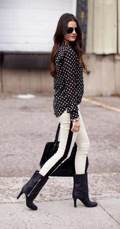 polkadots and stripes