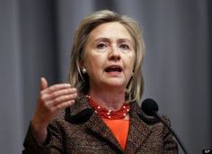 Former First Lady and current U.S. Secretary of State Clinton was a New York senator from 2001 until 2009 and a leading candidate for the 2008 Democratic presidential nomination.