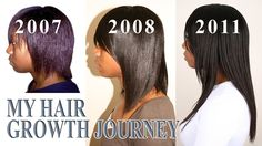 My Hair Growth Journey┃Relaxed Hair - http://community.blackhairinformation.com/video-gallery/relaxed-hair-videos/hair-growth-journey%e2%94%83relaxed-hair/