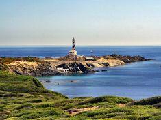 Cap de Favàritx, Menorca  (Spain) Menorca, Lighthouses, Amazing Places, Villas, The Good Place, Islands, Peace, Sweet, Water