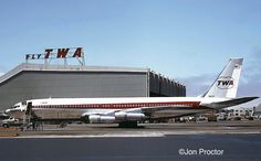Airports Out West Boeing 707, Boeing Aircraft, Civil Aviation, Aviation Art, Illinois, Helicopter Plane, Alaska, Hawaii, Air Travel