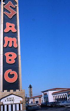 Restaurant Sambo (5666, rue Sherbrooke Est), 25 mars 1968, VM94-Ad40-216 by Archives de la Ville de Montréal, via Flickr