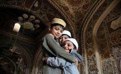 Kids after eid prayer