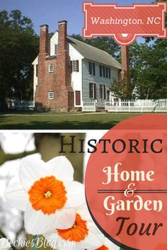 There are 2 Historic Home & Garden Tours this April near The Moss House B+B. One in Bath (the oldest town in NC) and another in Little Washington. Read more on Beckie's Blog.  | beckiesblog.com