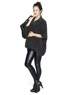 The Night-Out Legging |These make me wish I was pregnant again. Adore this brand