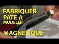 Fabriquer de la pâte à modeler magnétique