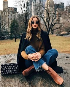 Style Fashion New York Nyc Ideas New York Outfits, New York Pictures, New York Photos, Joelle Fletcher, Photo New York, Outdoor Fotografie, Nyc Pics, New Yorker Mode, Foto Casual