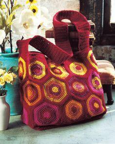 Sunny Shoulder Bag | crochet today