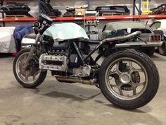 1984 K100 Cafe Racer budget build- BMW K75 K100 K1 K1100