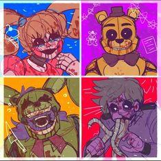 Anime Fnaf, Otaku Anime, Scary Animals, Fnaf Baby, Fnaf Sl, Fnaf Wallpapers, William Afton, Fnaf Sister Location, Fnaf Characters