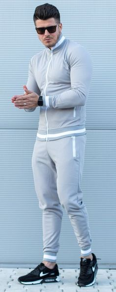 Trening `TRACK` - Gri Track, Sporty, Collection, Fashion, Moda, Runway, Fashion Styles, Lob, Track And Field