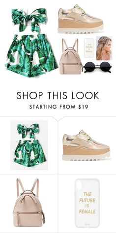 """""""Summer vibes!"""" by lineocarol on Polyvore featuring WithChic, STELLA McCARTNEY, Fendi and Sonix"""