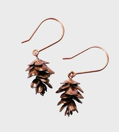 Pinecone Earrings by Justine Brooks Design on Scoutmob Shoppe