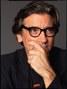 Actor Griffin Dunne in our Mike frames...