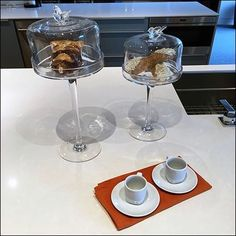 Cake and Coffee Props Kitchen Showroom Staging – Fixtures Close Up Coffee Cup Holder, Coffee Cups, Cup Holders, Retail Fixtures, Store Fixtures, The Bell Jar, Bell Jars, Kitchen And Bath, Kitchen Decor