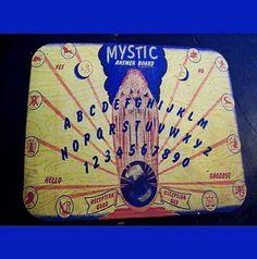 Spirit board mouse pad retro vintage by buckaroosmercantile