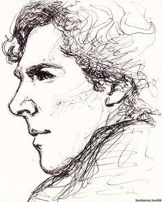 Sherlock fan art by benbenny.